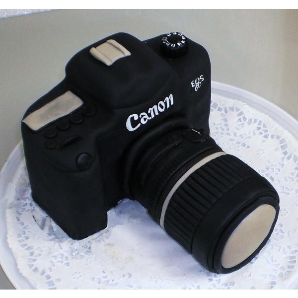 Торт в виде фотоаппарата спб